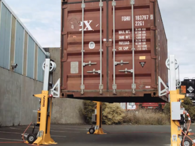 Bison group launch new automated container lifting solution