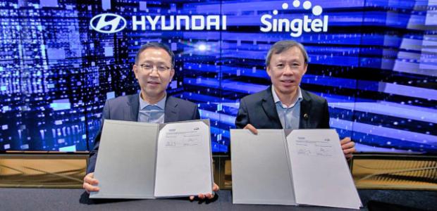 Hyundai and Singtel launch 5g technology partnership